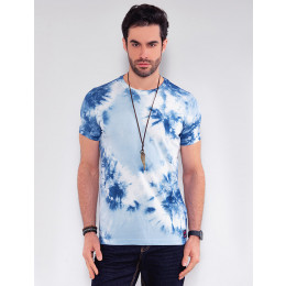 Camiseta Atacado Tie Dye Masculina Revanche Classic Preto Frente