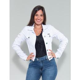 Jaqueta Color Atacado Feminina Revanche Berdine Branco Frente