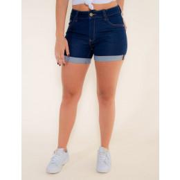 Shorts Jeans Atacado Barra Dobrada Feminino Revanche Cairo Frente