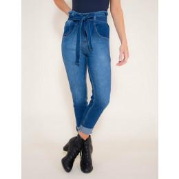 Calça Jeans Atacado Clochard Feminina Revanche Moscow Frente