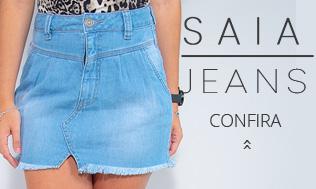 Banner Mosaico Shorts Jeans Feminino sl 2