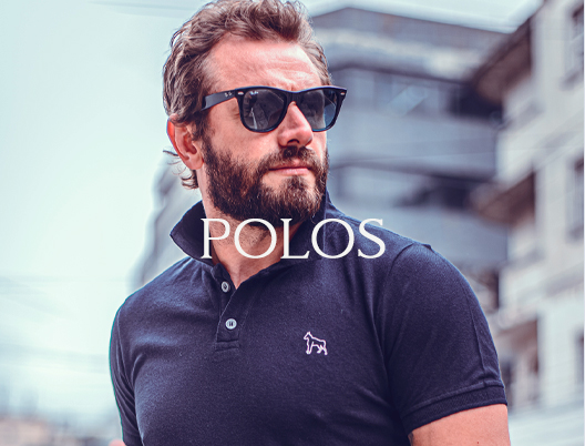 Camisa Polo Masculina Revanche