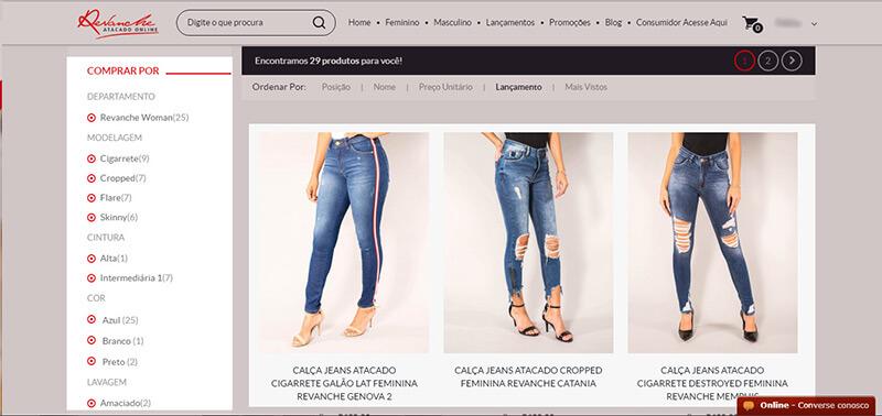 Como comprar: Categorias