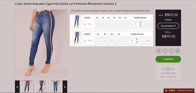 Como comprar: Página do produto