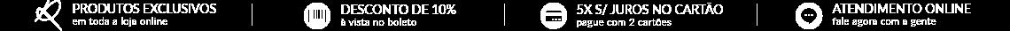 Banner formas de pagamento e atendimento