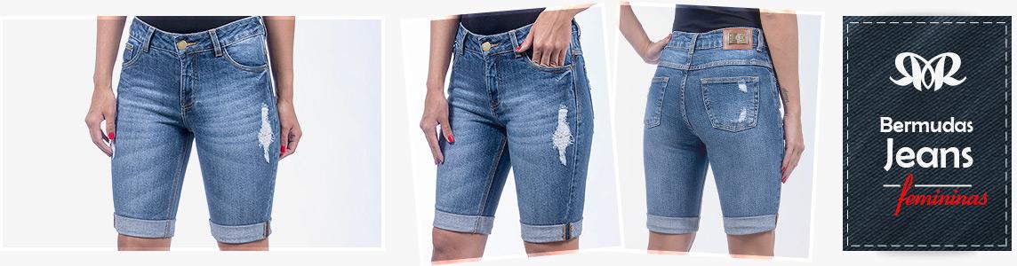 Bermudas Jeans Femininas Revanche