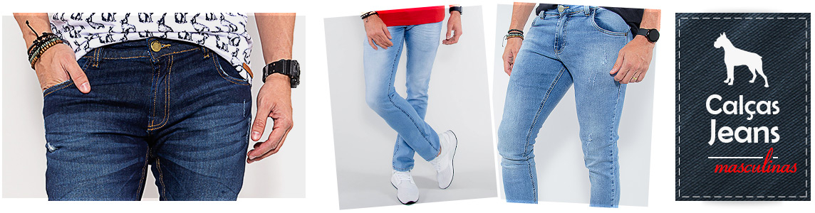 Calças Jeans Masculinas Revanche