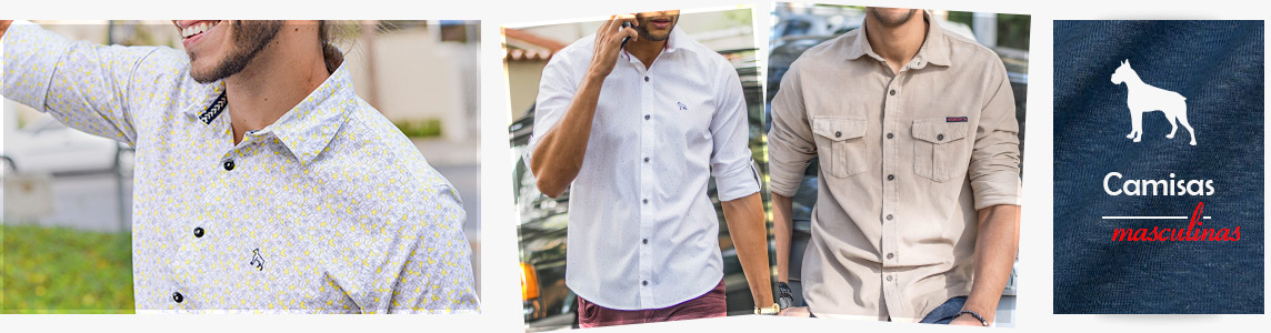 Camisas Masculinas Revanche