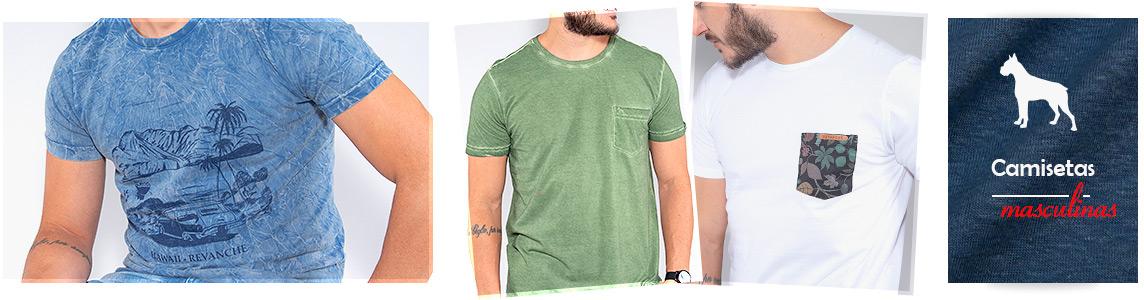 Camisetas Masculinas Revanche
