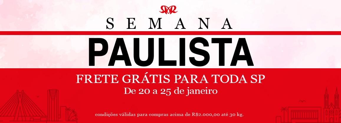 Banner Semana Paulista - Aniversário de São Paulo